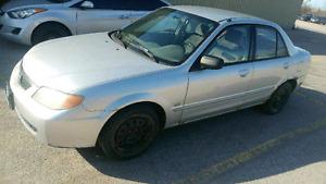 Mazda protege 2002. As is