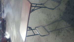 Collapsible table w. Fold out legs