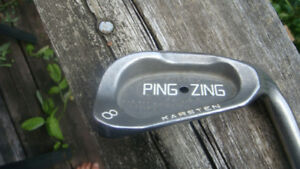 Ping Zing 8 iron  Black  Dot , right handed with  Ping shaft $40