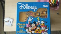 Disney Mickey Mouse Chess in Tin case