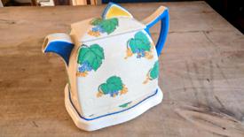 Royal Doulton 1920s rare antique vintage art deco teapot