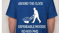 Around The Clock Dependable Movers