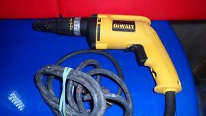 Dewalt DW255 Drywall Screw Driver $60.