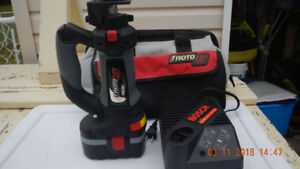 CORDLESS ROTORZIP ROUTER