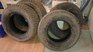 4 Winter P245/70/R16.  Like new!! Peterborough Peterborough Area image 2