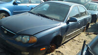 PARTING OUT 2002 KIA SPECTRA