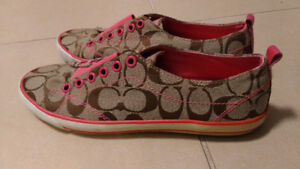 Authentic Coach Sneakers Shoes Slip-Ons