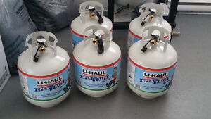 20lb. Propane Tank With Gas Gauge 2 Left (Airdrie)