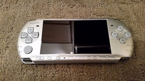Silver PSP 3000