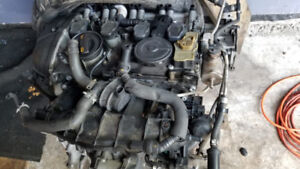 Audi B7 A4 engine for parts with TURBO, 2.0L CAEB
