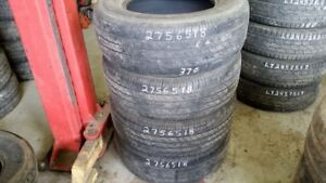 Set of 4 Michelin LTX AS 275/65R18 tires (65% tread life)