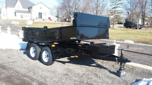 Another new 6' x 10' - 3 1/2 ton dump trailer for sale