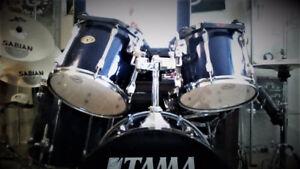 TAMA ROCKSTAR KIT WITH SABIAN XS20 CYMBALS AND TAMA STANDS