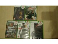 Xbox 360 5 games