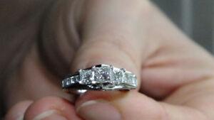Princess Cut Authentic Canadian Diamond