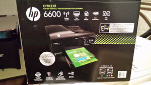 Officejet 6600 wireless printer, scanner,copier and fax