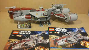 Lego Star Wars Set 7964 Republic Frigate Rare Minifigures