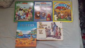 5 CHILDREN AND YOUNG TEEN BIBLE STORIES