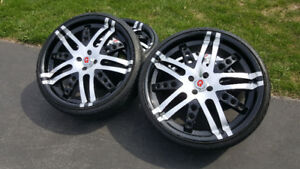 ** 2nd PRICE DROP  20-Inch Alloy Wheels (Rims+Tires) | 4x100 **