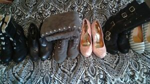 lot of shoes  and boots 20$ each