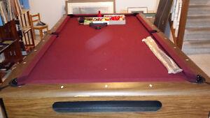 4x8 Slate pool table