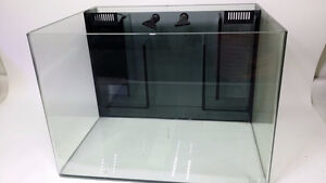 JBJ Nano Cube 30 Gallon Rimless Aquarium