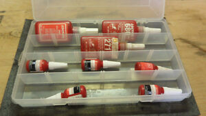 ASSORTED BOX OF LOCTITE PRODUCTS - ONLY $20