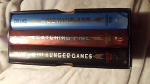 the Hunger Games Trilogy Box Set Hardcover