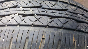 2 Kuymo tires on Chev rims