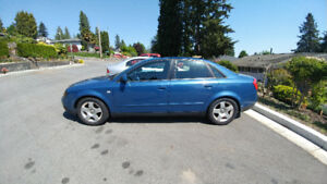 Rare Audi A4 1.8T Quattro Manual Transmission