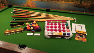 """""""Perfect Family Xmas Present"""" - """"pool table"""" and ALL accessories"""