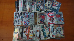 MTL canadien mix hockey cards lot of 68