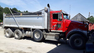 2008 KENWORTH W-900 Triaxle