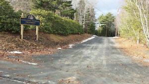 7 Approved Building Lots & Road - Bridgewater Town