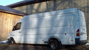 Parting Out 2006 DODGE 3500 Diesel Dually Sprinter High Roof Van