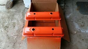 SBC Valve Covers (V8) / RAMS HORN exhaust manifold (283/305)