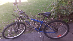 """24"""" mountain bike (fits person 3-5' tall)"""