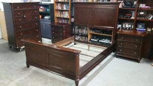 Solid 4 Piece Bedroom Set