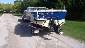 Good running Doral with double axle trailer London Ontario image 3