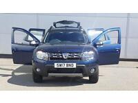 2017 Dacia Duster 1.5 dCi 110 Laureate 5dr 4X4 Diesel blue Manual