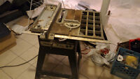 """ToolKraft 9"""" electric table saw"""