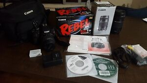 *REDUCED* Canon Rebel T3i with complete kit (almost brand new)