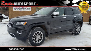 CERTIFIED 2016 JEEP GRAND CHEROKEE LIMITED
