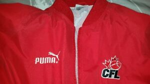 USED CFL Time Keepers Jacket Size L - Large.