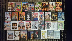 Big Box of Used DVDs & VHS - $200