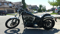 Harley Davidson Blackline Dark custom 2013