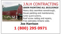 Barn Painting, Repairs, Roof Painter and Eavestrough by J.N.H