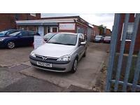 2001 / Y Vauxhall Corsa 1.2 I 16v Comfort 3 Door Full MOT+Warranty+AA Cover