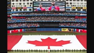 Blue Jays vs Red Sox Canada Day Game