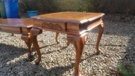 Coffe table, Beautiful Mahogany vintage table